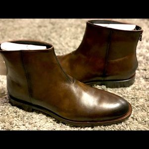 John Varvatos USA NYC Back Zip Boots